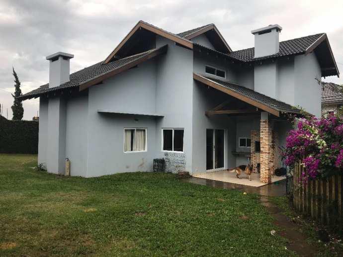 Casa de condomínio com 5 quartos à venda, 358 m² por r$