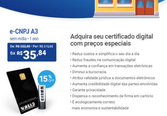 Certificadora digital e serviços de cabeamento de rede e