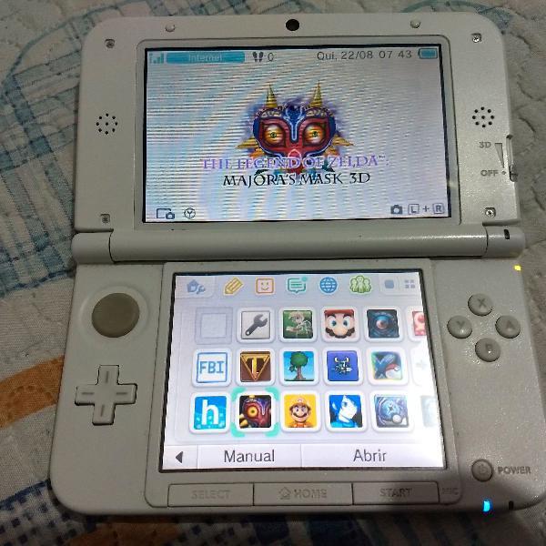 Nintendo 3ds xl desbloqueado com 32gb