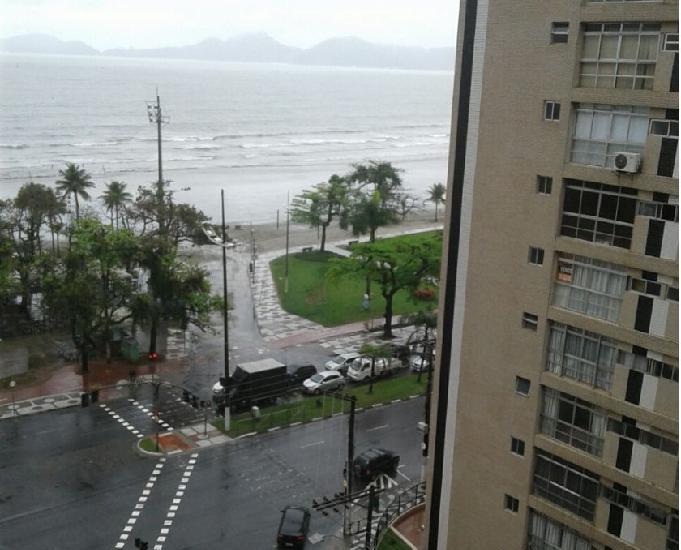 Santos Aparecida Fte mar Apartamento 1 dorm.elevador,garagem