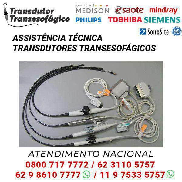 Transdutores transesofagicos, vendas e manutenção todo o