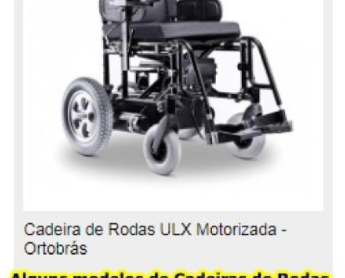 VENDO CADEIRA DE RODA MANUAL OU MOTORIZADO, COM POUCO USO