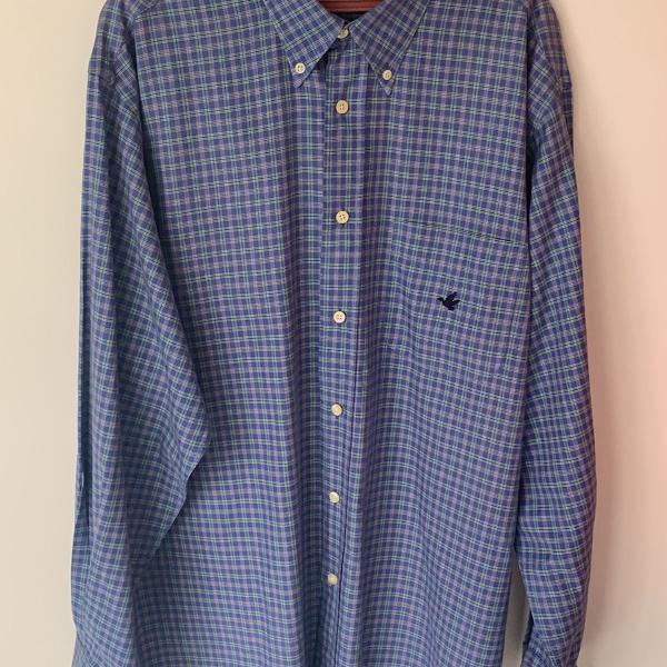 Camisa brooksfield azul