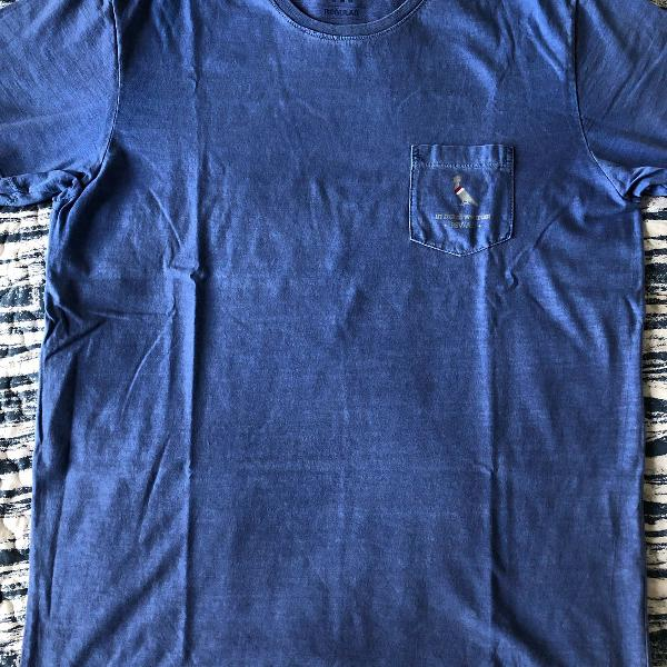 Camisa reserva azul nova
