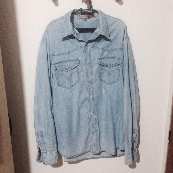Camisa vintage jeans