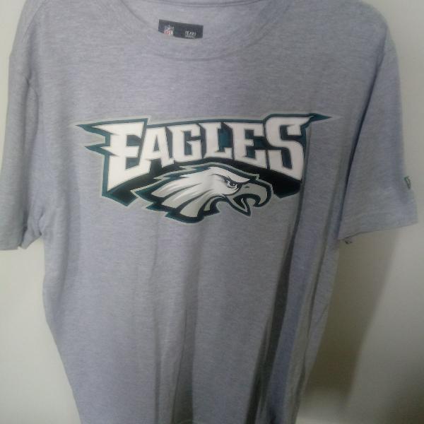 Camiseta new era original cinza tam. m