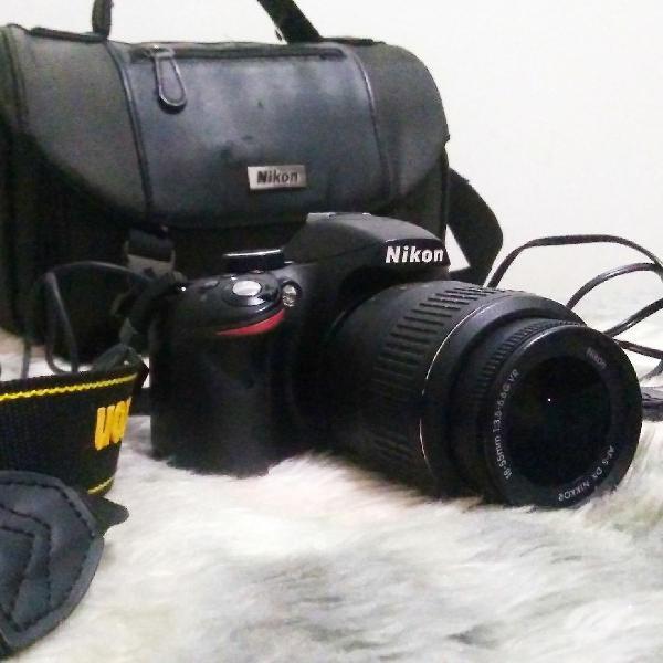 Câmera nikon d3200 dslr