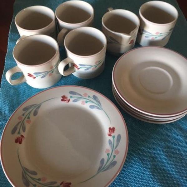Conjunto de café/chá de porcelana de alemanha