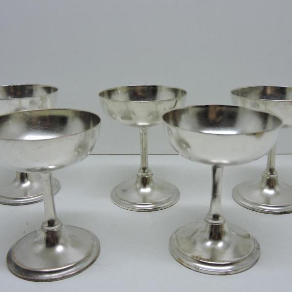 Conjunto taças em prata