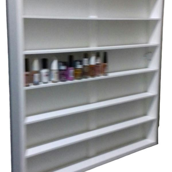 Expositor para 138 esmaltes mdf branco