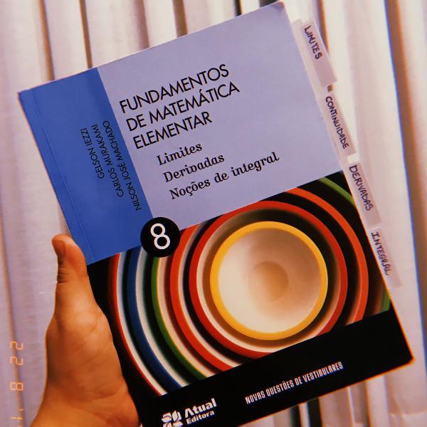Fundamentos de matemática elementar - volume 8 - limites,