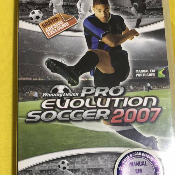 Jogo psp winning eleven pro evolution soccer 2007