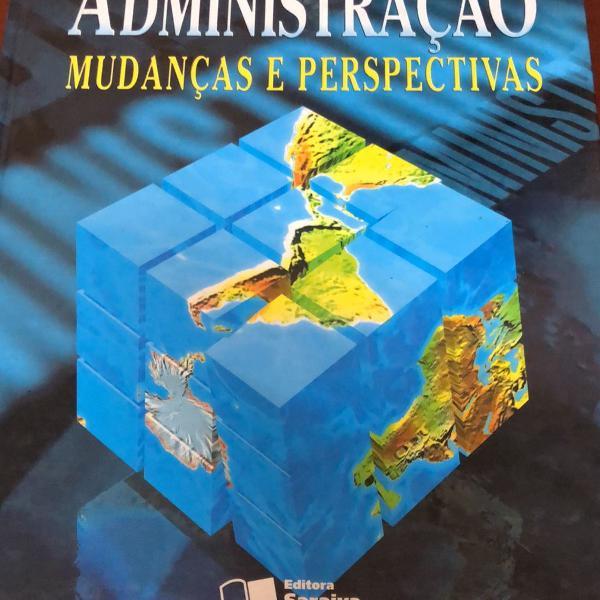 Livro administração mudanças e perspectivas stephen p.