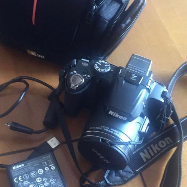 Máquina fotográfica nikon p510