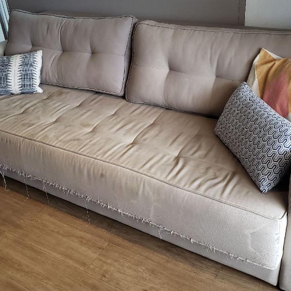 Sofá cama tok&stok