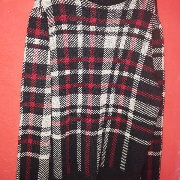 Suéter osklen xadrez novinho