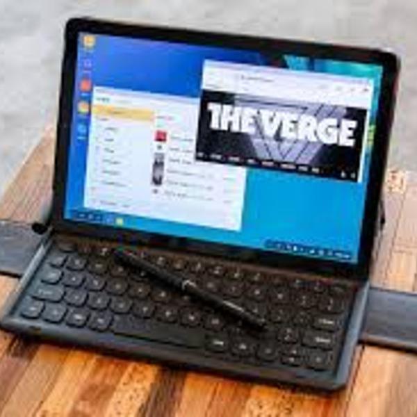 Tablet top samsung tab s4 c/ capa teclado original surface