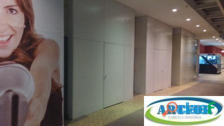 Venda e instalação divisórias eucatex, divisórias para escritorio, isolamento com divisória,artfor