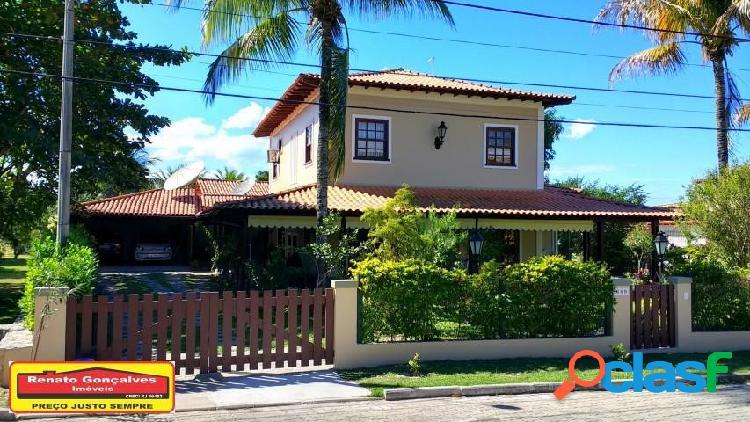 Casa em condomínio - venda - araruama - rj - condominio sao jose d`aldeia