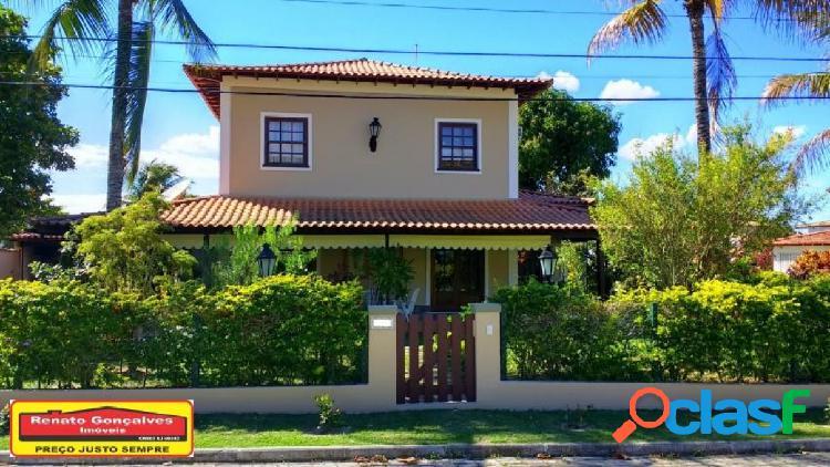 Casa em condomínio - venda - araruama - rj - condominio sao jose d`aldeia - bananeiras