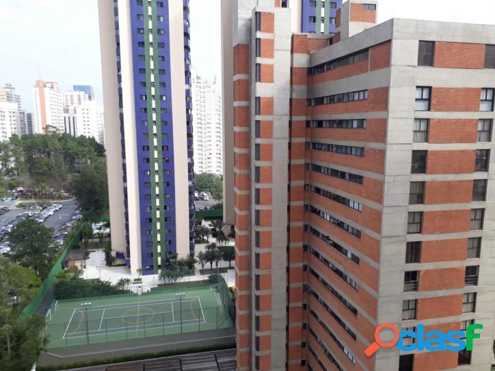 Locação de apartamento mobiliado edificio classic alphaville