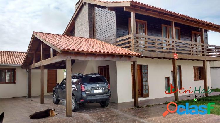 Casa no recanto de portugal - laranjal, com 5 dormitórios (2 suítes)