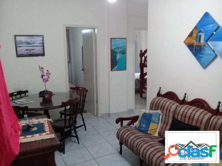 Apartamento 2 dormitórios praia grande / canto do forte / 50 metros praia