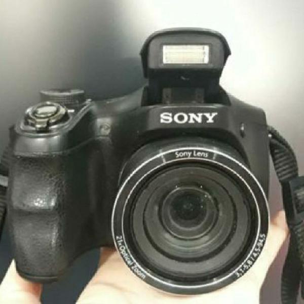 Câmera sony semiprofissional