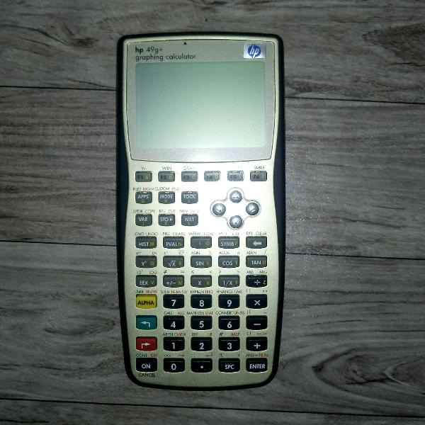Calculadora científica hp 49g+