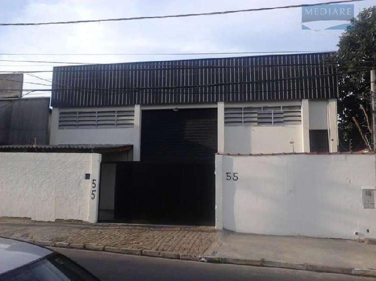 Galpão/depósito/armazém para alugar, 390 m² por r$