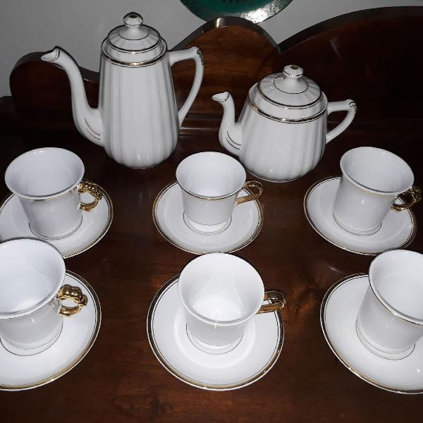 Jogo de chá porcelana germer polovi