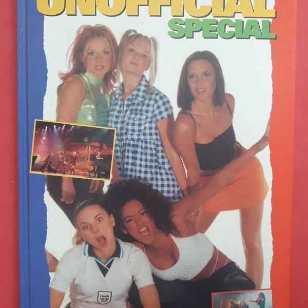 Livro spice girls inglês
