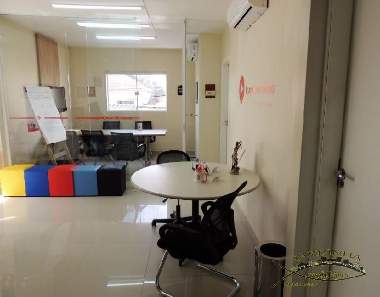 Sala comercial para alugar, 10 m² por r$ 450/mês cod.
