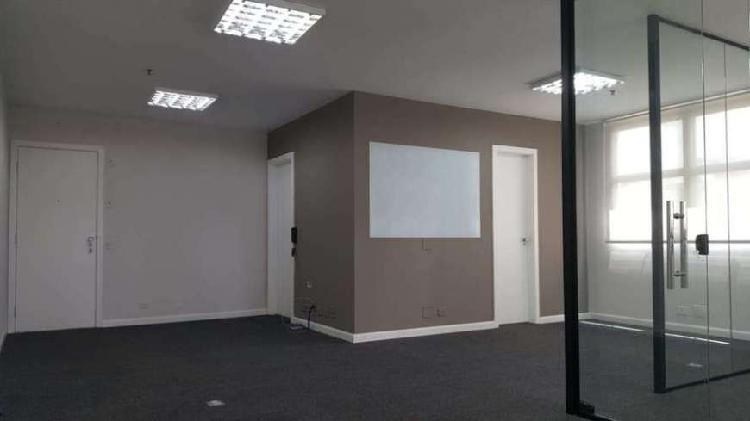 Sala comercial para alugar, 51 m² por r$ 2.500/mês cod.