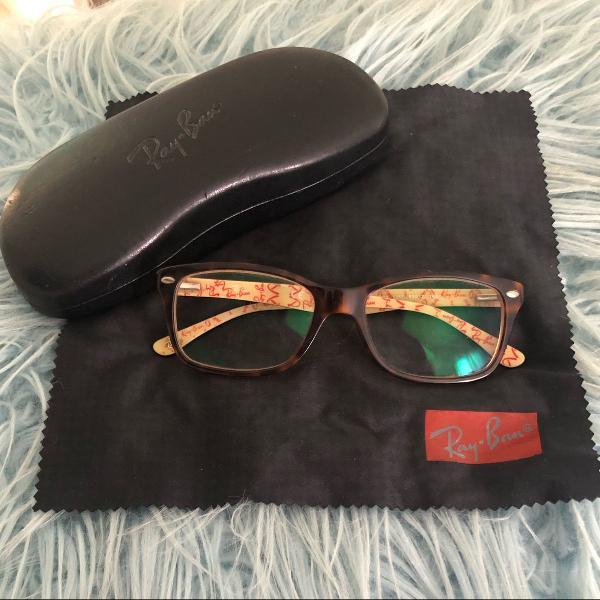 Armação óculos rayban