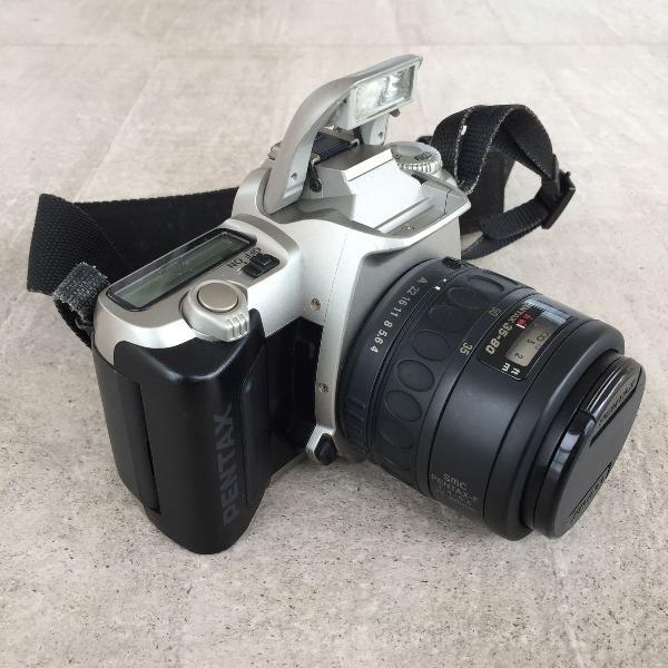 Câmera fotográfica slr de filme pentax mz-50