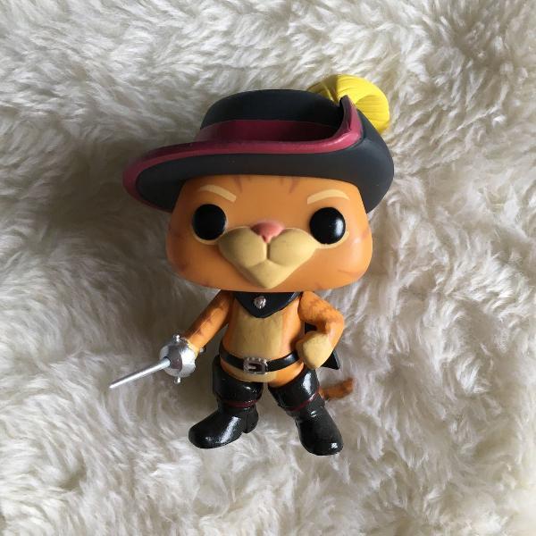 Funko pop: gato de botas