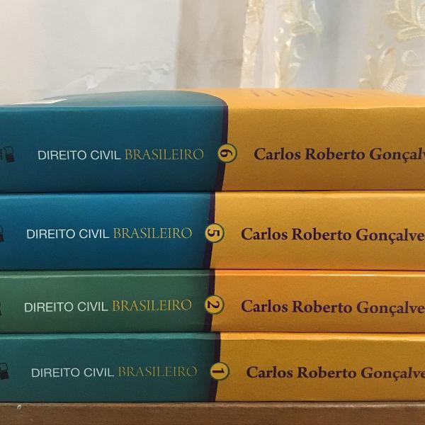 Livros direito civil brasileiro