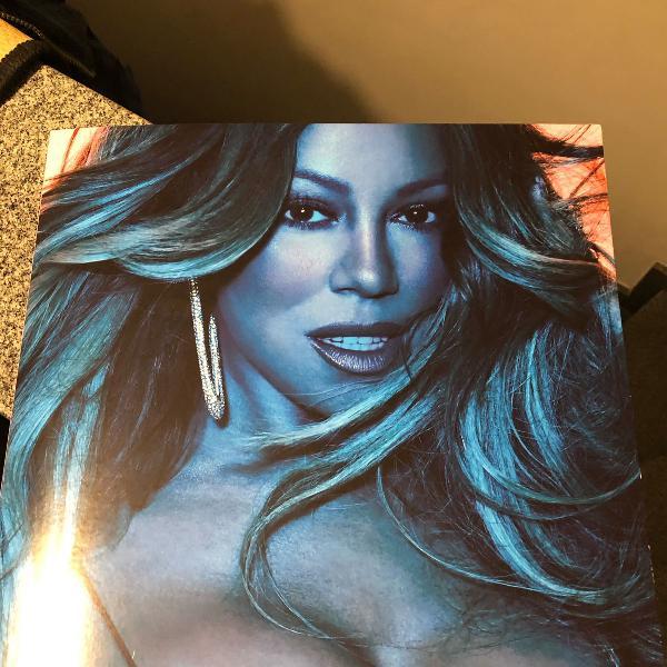 Mariah carey caution vinyl raro importado nunca tocado