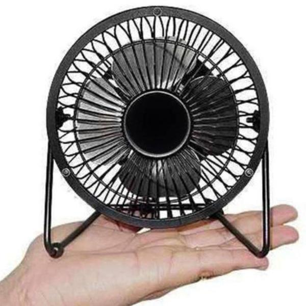 Mini ventilador usb potente e ultra silencioso portátil