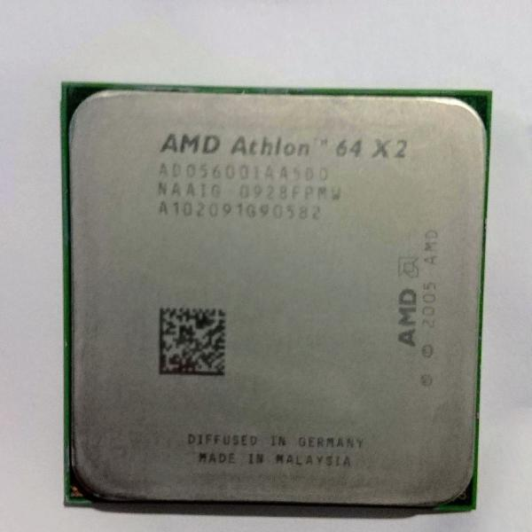 Processador am2 amd athlon 64 x2 5600+ 2.9ghz