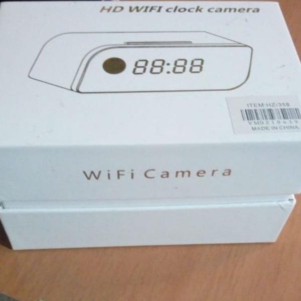Relógio digital com câmera !! carrega via usb e funciona