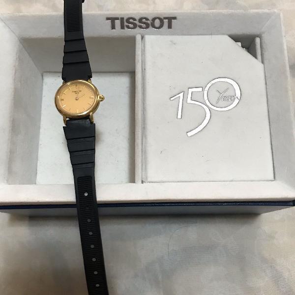 Relógio feminino pulseira de couro original e de borracha