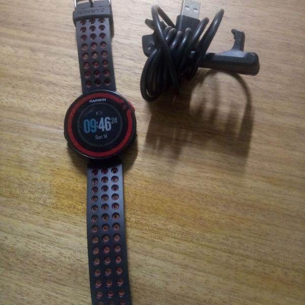 Relógio garmin gps forerunner 220