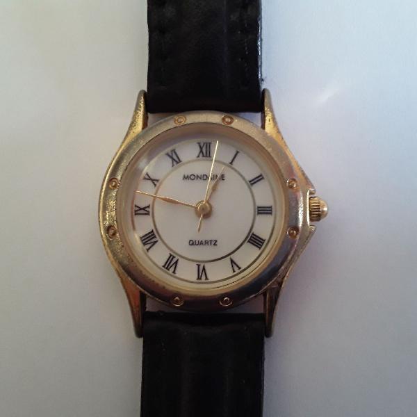 Relógio mondaine feminino redondo
