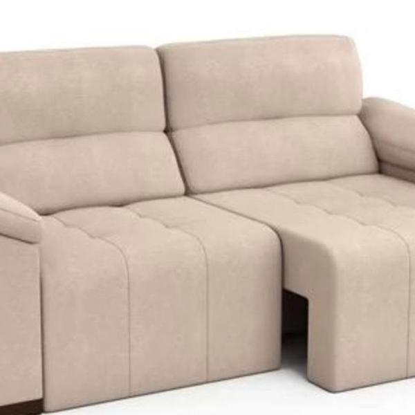 Sofa extensivel bege
