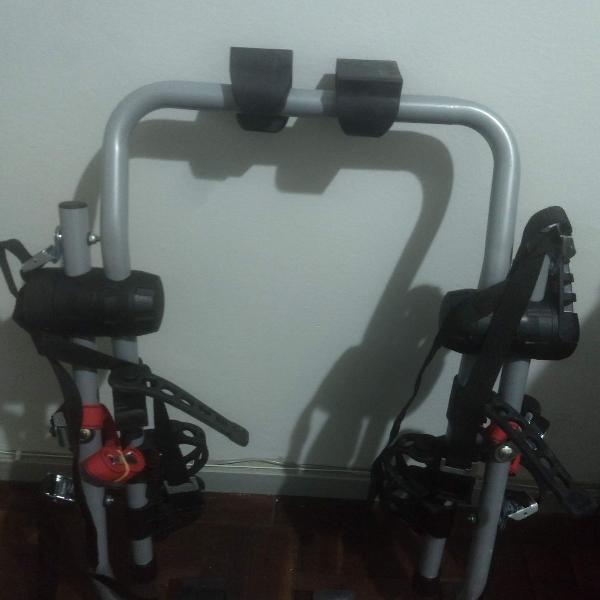 Suporte automotivo para 3 bikes
