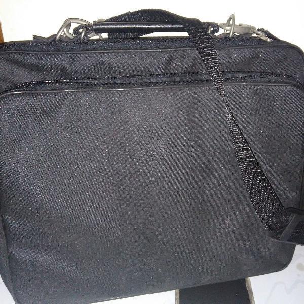 To work! maleta bolsa para notebook trabalho viagem preta