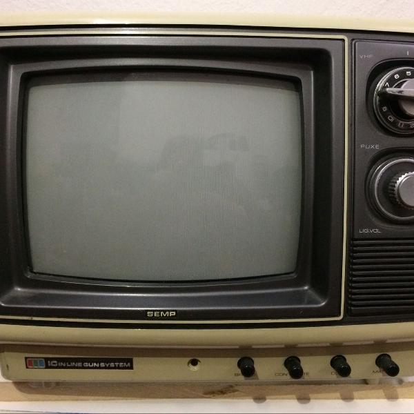 Tv retrô para decoração!! (não funciona)