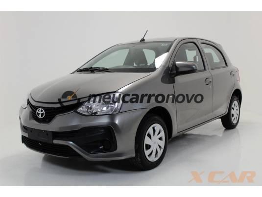 Toyota etios 1.3 flex 16v 5p mec. 2017/2018